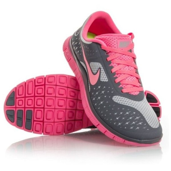 best sneakers f2a10 94f93 Nike Shoes | Free 40 V2 Womens Running Greypink | Poshmark
